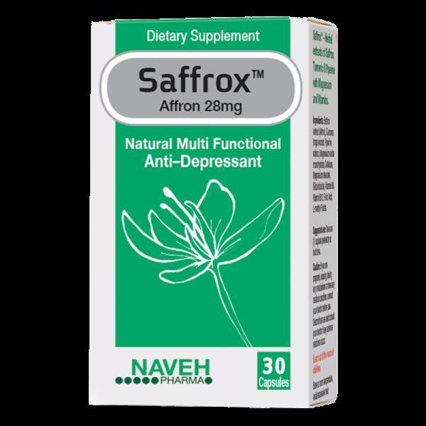 נוה פארמה - SAFFROX ספרוקס - תוסף תזונה
