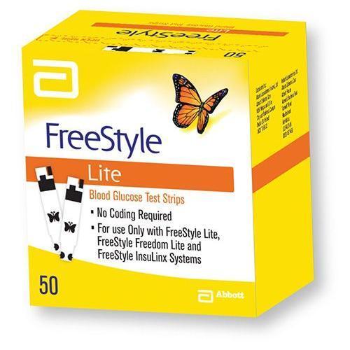 FreeStyle Lite פריסטייל לייט מקלונים לבדיקת סוכר בדם